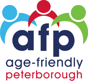 Age-friendly Peterborough logo