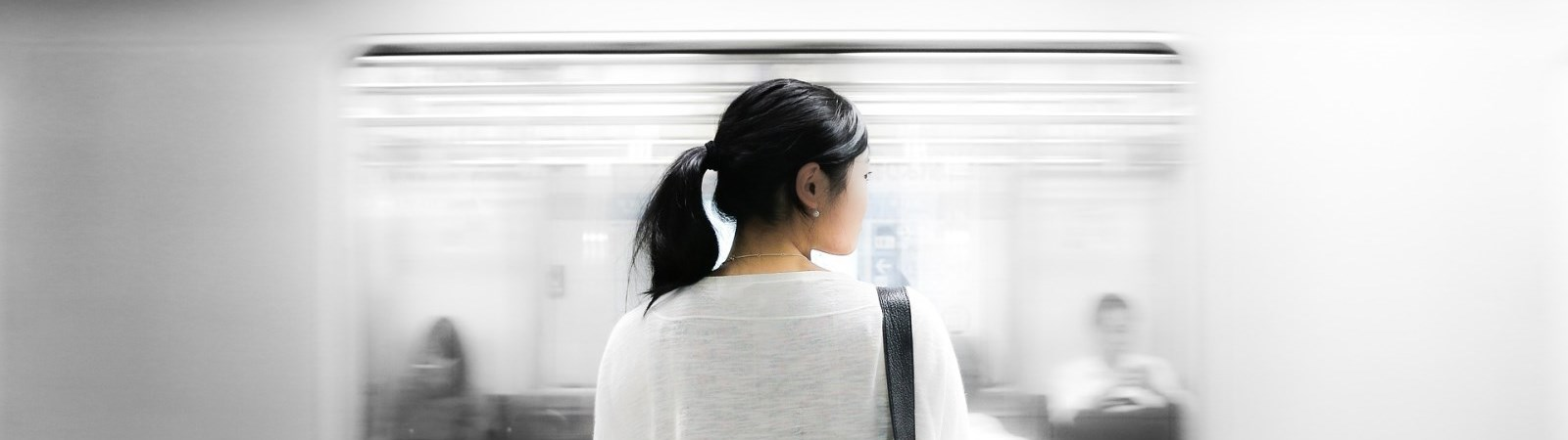 Image of a commuter.