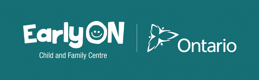 EarlyON Child and Family Centres Logo.