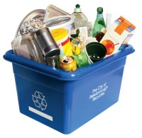 Containers recycling example