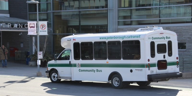 Peterborough Transit bus
