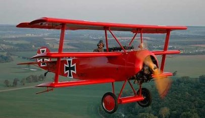 Great War Flying Museum bi-plane
