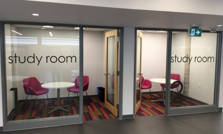 study rooms at the peterborough public library
