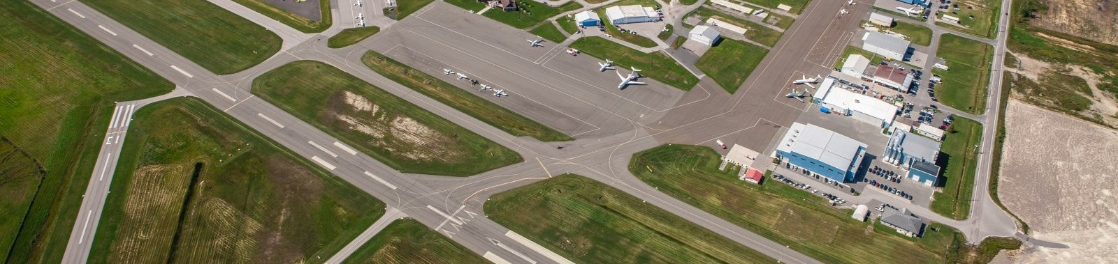Peterborough Airport aerial photo
