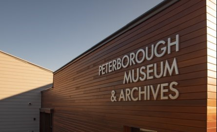 Exterior Peterborough Museum and Archives