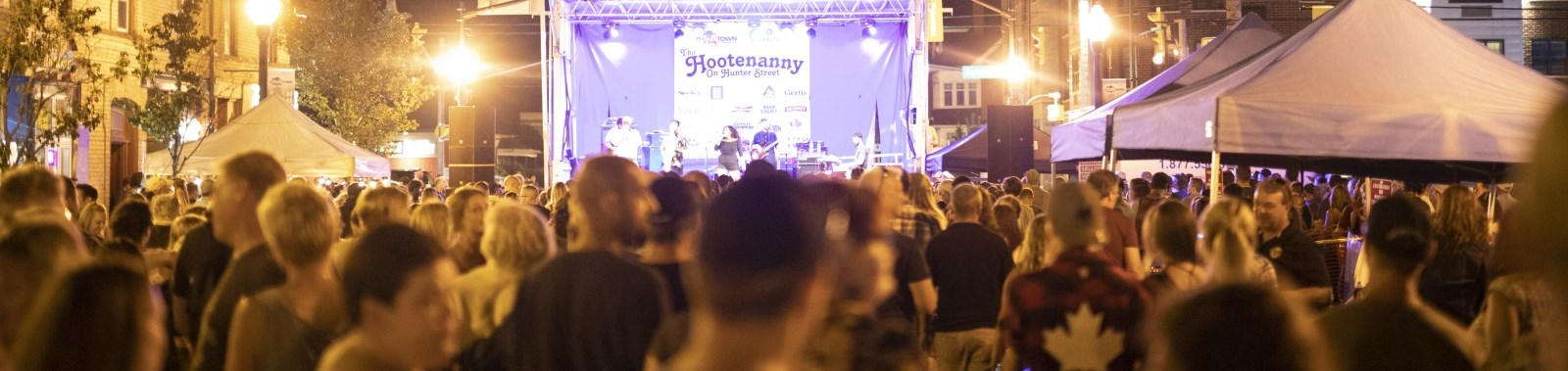 Hootenanny on Hunter Street