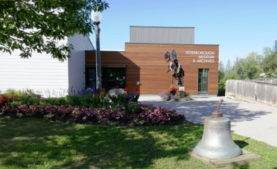 Front exterior of Peterborough Museum & Archives