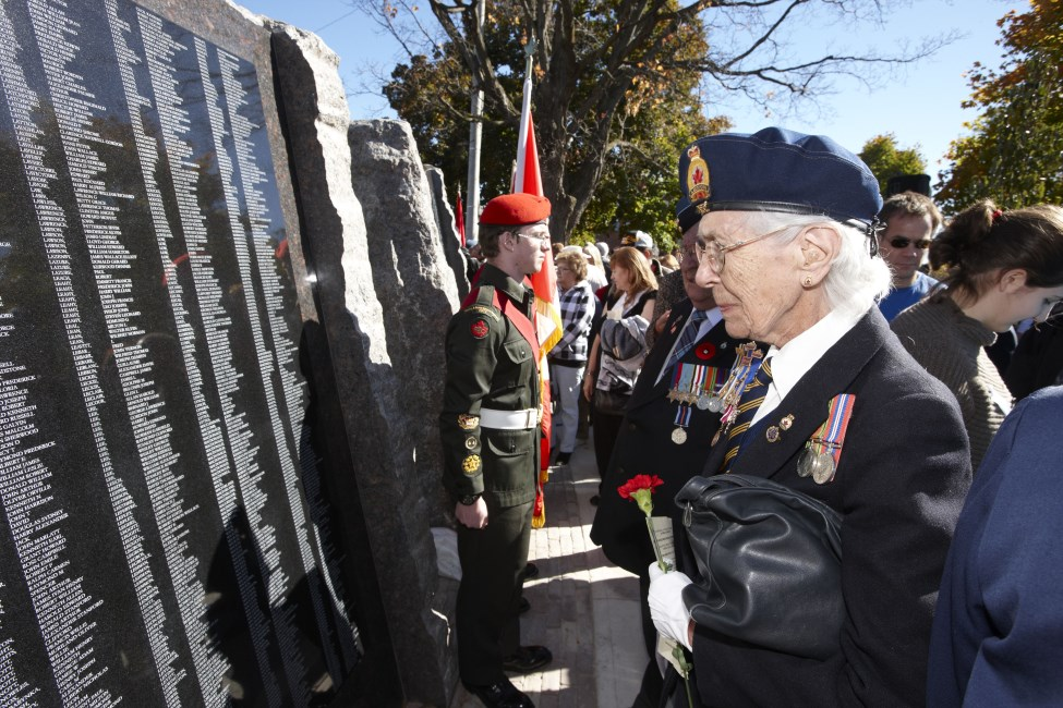 Dedication of the Veterans' Wall of Honour