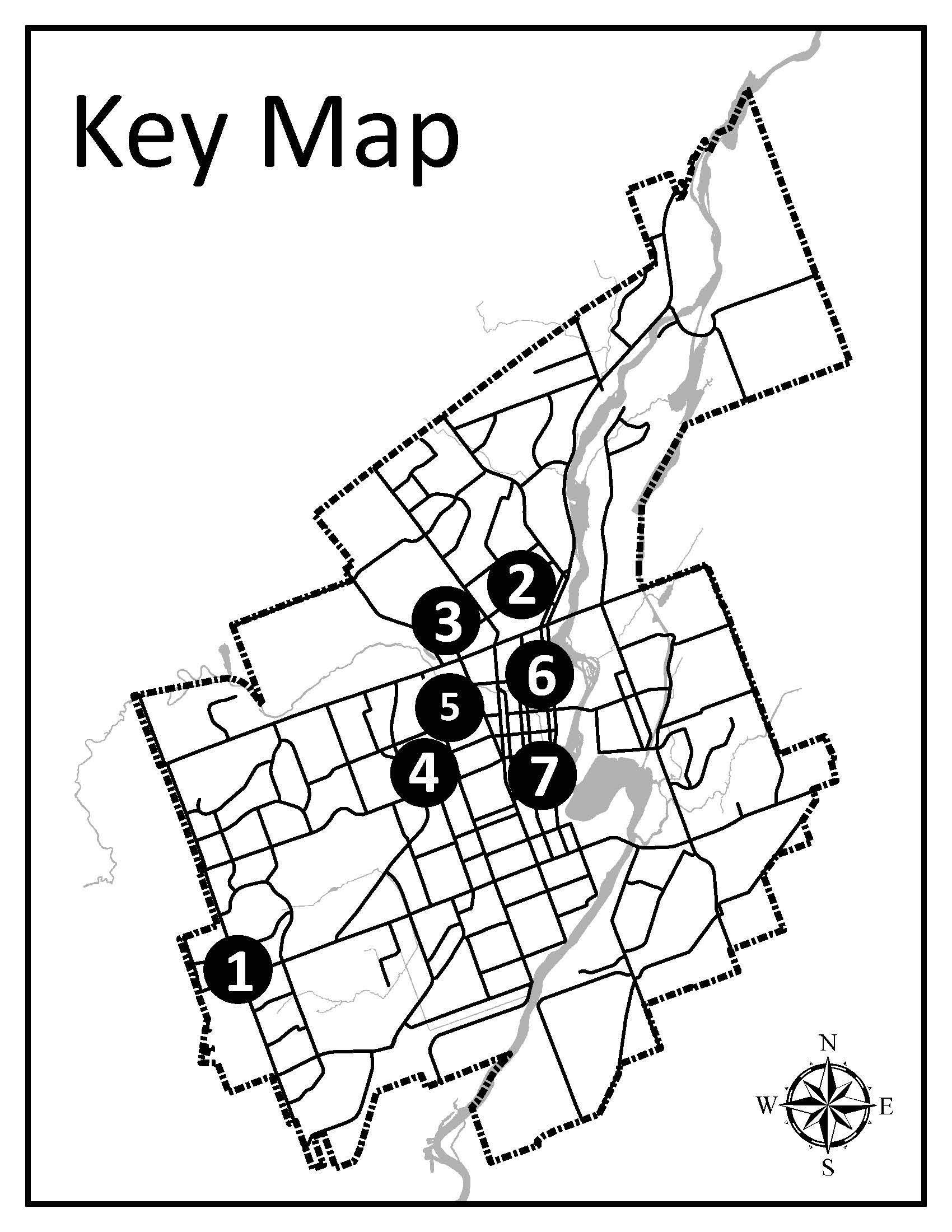 map of property locations