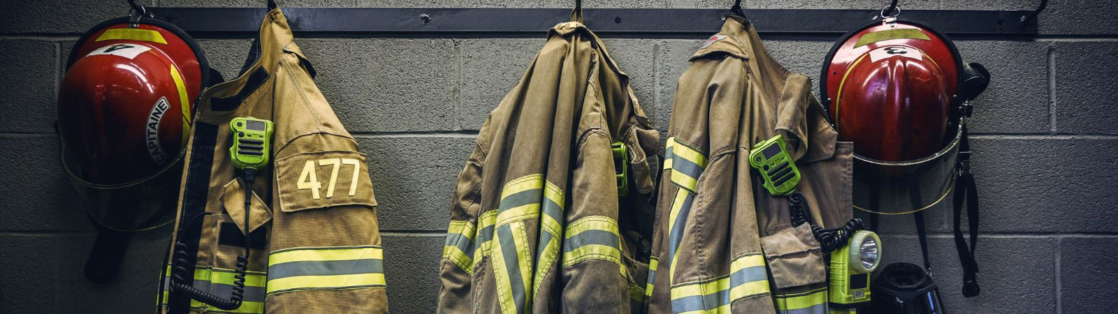Hanging fire uniforms